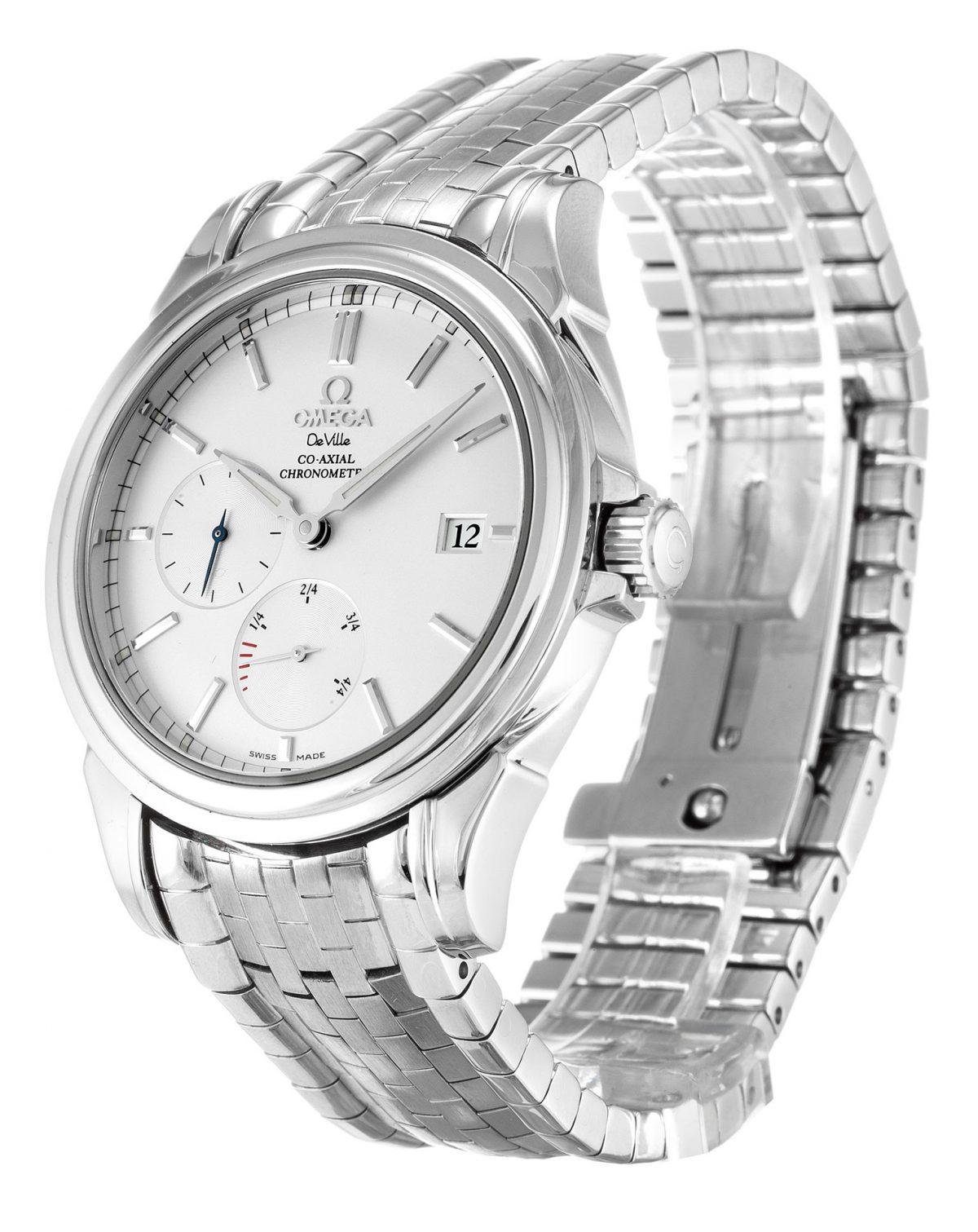 Omega De Ville Co-Axial 4532.31.00 Mens Steel Silver Dial 38.7mm Watch