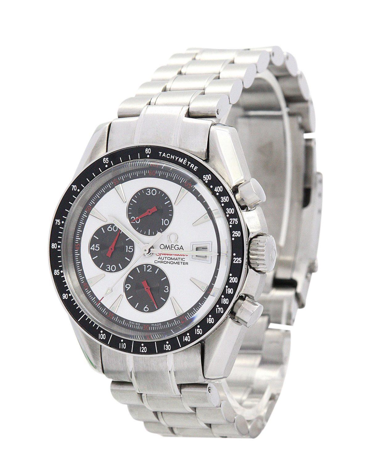 Omega Speedmaster Broad Arrow Mens Steel Automatic 42mm Watch
