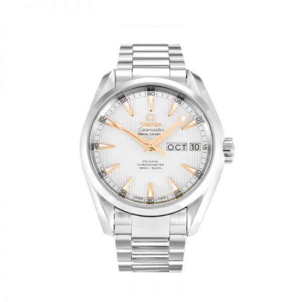 Omega Aqua Terra 150m Gents 231.10.39.22.02.001 Mens Silver Dial Watch