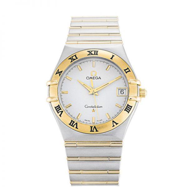Omega Constellation 1212.30.00 Mens Steel Yellow Gold Quartz Watch